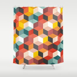 Fair and Square Shower Curtain