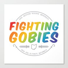 Fighting Gobies Nationals - Rainbow Canvas Print