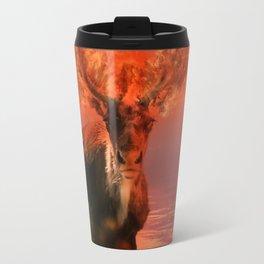 Deer on Fire by GEN Z Travel Mug