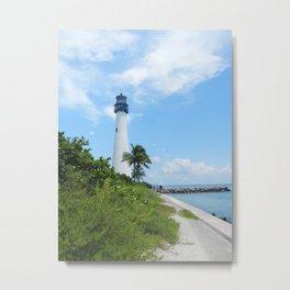 Miami Lighthouse Metal Print