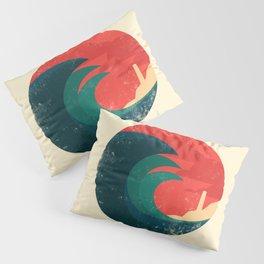 The wild ocean Pillow Sham
