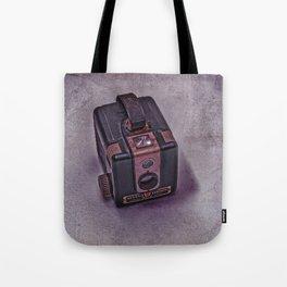 Old Brownie Camera Tote Bag