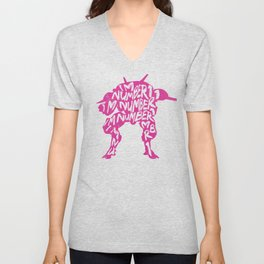 Dva I am number One Unisex V-Neck