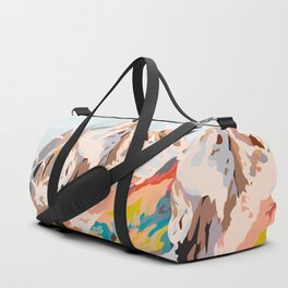 glass mountains Duffle Bag