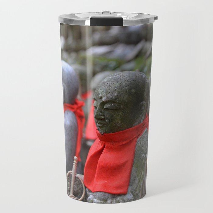 Little Japanese Jizo Travel Mug