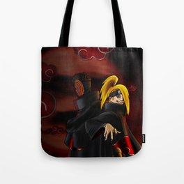 tobi  and deidara Tote Bag