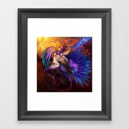 The Harpy Framed Art Print