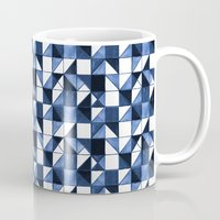 blues Mugs featuring Blues by Jozi