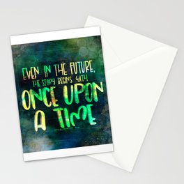 Once Upon A Time (Cinder) Stationery Cards