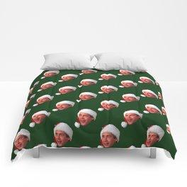 Fixed the Newel Post! Comforters