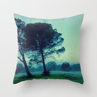 illusion Throw Pillows featuring Illusion by Anna Andretta