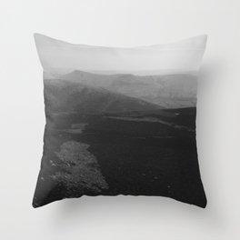 Dark Landscape 3 Throw Pillow
