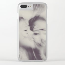 Love esplosion Clear iPhone Case