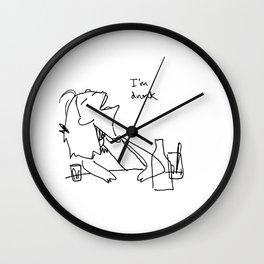 I'm drunk Wall Clock