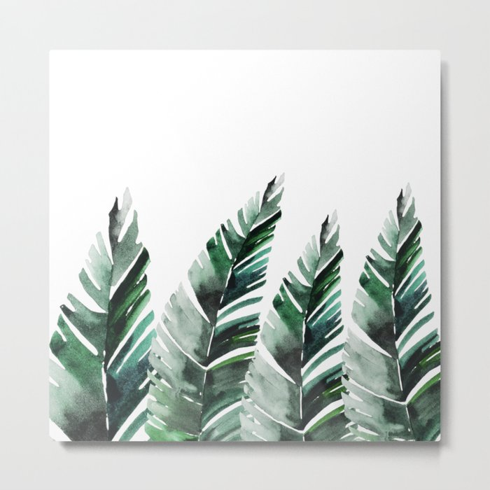 Areca Palm Metal Print