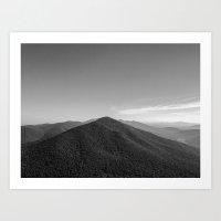 Views from Sharp Top Art Print
