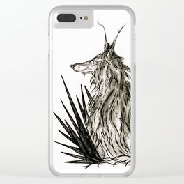 Coyote Clear iPhone Case