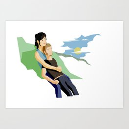 (Platonic) Love Since Second Semester Art Print