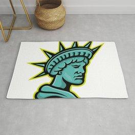Lady Liberty or Libertas Mascot Rug