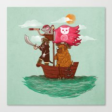 The Pirates Canvas Print