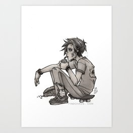 Downtime Art Print