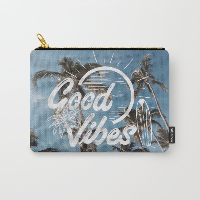 Good Vibes (summer) Carry-All Pouch