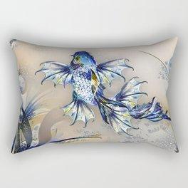 Playfully Shimmering Rectangular Pillow