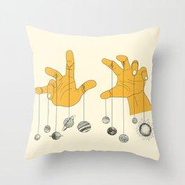 Solar System Throw Pillow