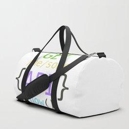 GET me some apis now Duffle Bag