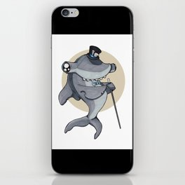 Pretentious Hammerhead Shark iPhone Skin