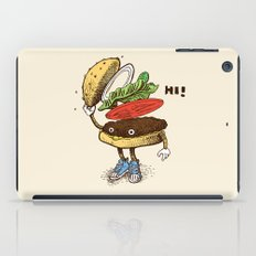 Burger Greeting iPad Case