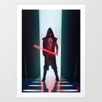 sith Art Prints featuring Sith by Shaun S Minns