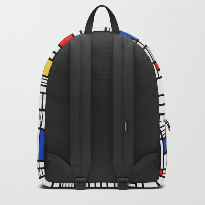 Map Lines Mond Backpack