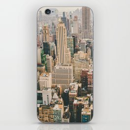 NEW YORK CITY II iPhone Skin