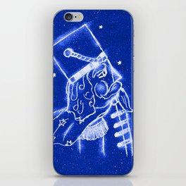 Nutcracker in Bright Blue iPhone Skin