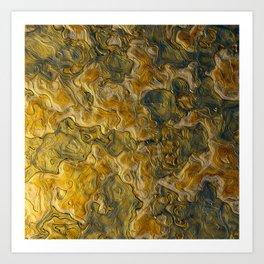 Abstract Studio 5 Art Print