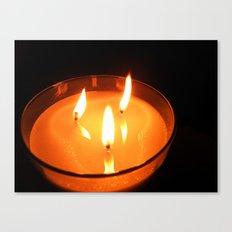 Burn Bright Canvas Print