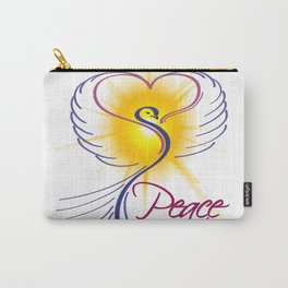 Peace Dove Carry-All Pouch