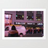 Bubba Gump Shrimp Co.  Art Print