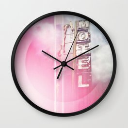 Energy Loops Wall Clock