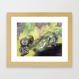 Holy Goat Framed Art Print