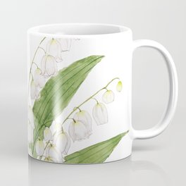white lily of valley Coffee Mug