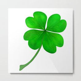 Four Leaf Clover Metal Print