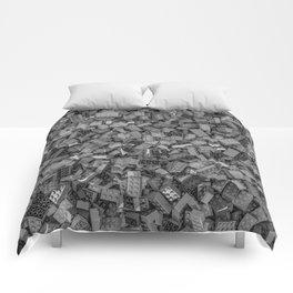 Master builder B&W Comforters