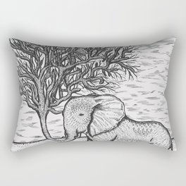 Tall tale of then eletrunk Rectangular Pillow