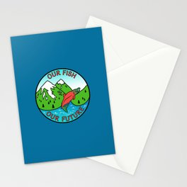 Stop Pebble Mine Stationery Cards