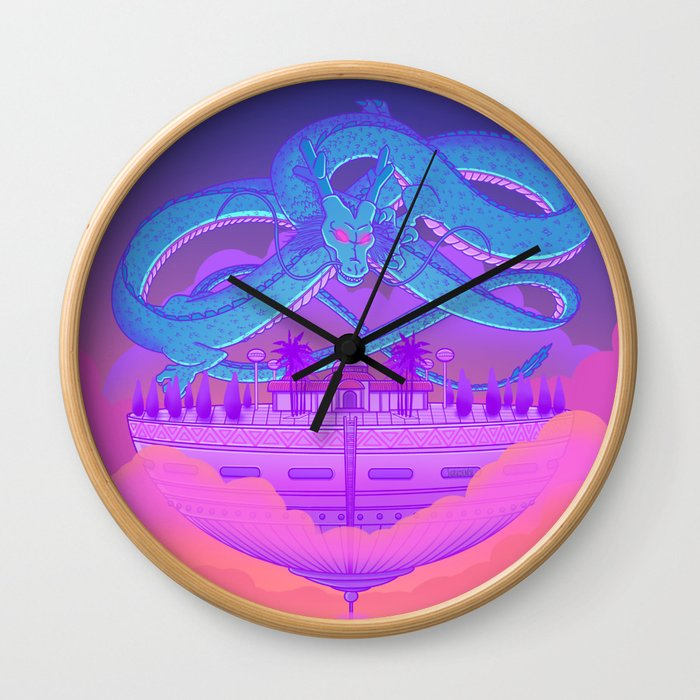 Kami's Lookout Wall Clock