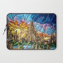 Asgard stained glass style Laptop Sleeve