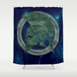TROJAN HERO Shower Curtain