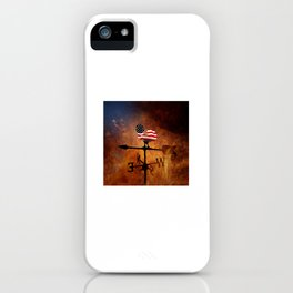 POTUS Trump and the Wind Of Times. iPhone Case